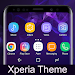 Download Galaxy S9 purple | Xperia™ Theme 1.2a.free APK