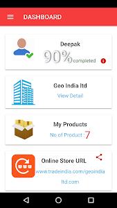 screenshot of GetBizOnline version 1.1.7