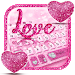 Download Glitter Love Heart Keyboard 10001008 APK