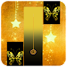 Download Gold Glitter ButterFly Piano Tiles 2018 1.4 APK