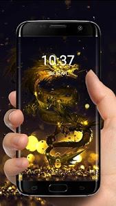 Download Golden Dragon Theme & Lock Screen 1.1.14 APK