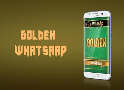 Download Golden Whatsa Plus PRANK 3.1.0 APK