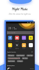 Download Goldeness Browser - Small, fast, private, easy use 1.1.2 APK