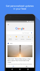 screenshot of Google version Varies with device