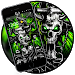 Download Gothic Metal Graffiti Skull Theme 1.1.38 APK