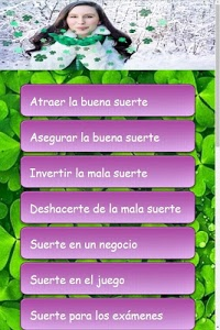 screenshot of Hechizos de Suerte version 1.04