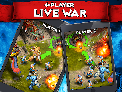 Download Heroes of War: Orcs vs Knights 1.3.6 APK