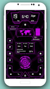 screenshot of High Style Launcher 2018 - Theme, Hi-tech version 4.0