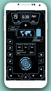 screenshot of High Style Launcher 2019 - Theme, Hi-tech version 7.0