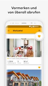 screenshot of Immowelt - Immobilien, Wohnungen & Häuser version 4.10.6