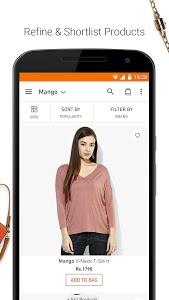 screenshot of Jabong-Online Fashion Shopping version 3.3.1