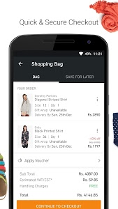 screenshot of Jabong - ONLINE FASHION STORE version 3.9.1