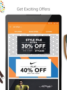 screenshot of Jabong-Online Fashion Shopping version 2.7.2