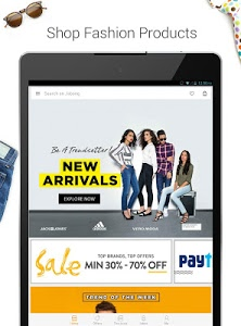 screenshot of Jabong-Online Fashion Shopping version 3.6.1