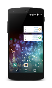 screenshot of Journal costs version 1.16.3