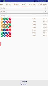 screenshot of Kết quả xổ số Vietlott Power 6/55, Mega 6/45 version 111.3005.A12