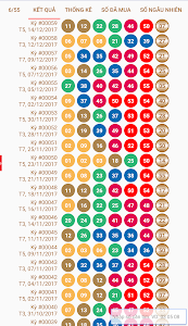 Download Kết quả xổ số Vietlott Power 6/55, Mega 6/45 111.3005.A12 APK