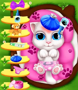 Download Kitty Mommy Angel's New Baby 1.0 APK
