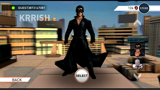 screenshot of Krrish 3: The Game version 2.0.2