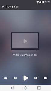 screenshot of LG TV Plus version 4.0.3
