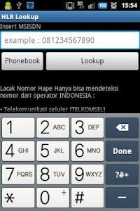 Download Lacak Nomor Telepon HLR Lookup 1.1 APK