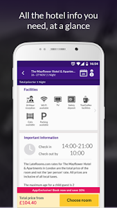 screenshot of LateRooms: Find Hotel Deals version 1.24.5