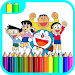 Download Learn Coloring For Doraemon 1.2 APK