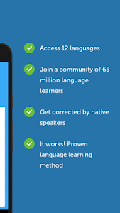 screenshot of busuu - Easy Language Learning version 10.6.339
