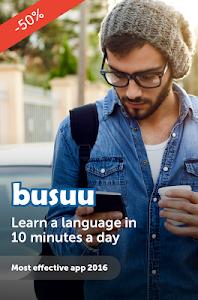 screenshot of busuu - Easy Language Learning version 11.1.2.495