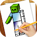 Download Learn to Draw Minecraft 1.02 APK