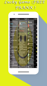 screenshot of Lucky Game :NEW FREE PRANK ! version 1.0