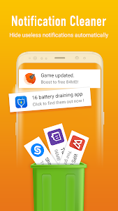 screenshot of MAX Cleaner - Phone Cleaner & Antivirus version 1.1.2