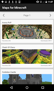 Download Maps for Minecraft 1.0.8 APK
