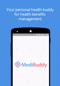 screenshot of MediBuddy version 2.4