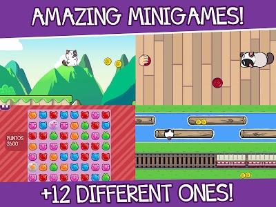screenshot of Mimitos Virtual Cat - Virtual Pet with Minigames version 2.40.0