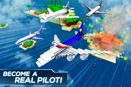 Download Mine Passengers: Plane Simulator - Aircraft Game 3.4.3 APK