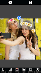 screenshot of Mirror Photo Editor: Collage Maker & Selfie Camera version Varies with device