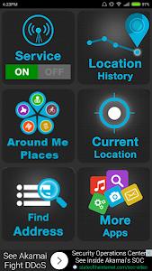 screenshot of Mobile GPS Location Tracker version 4.6