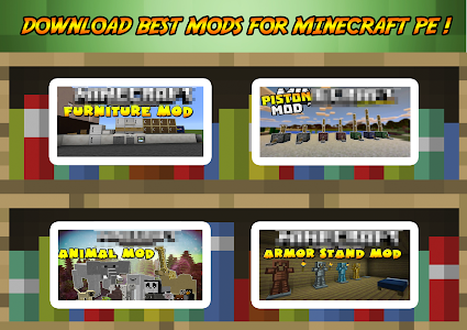 Download Addons & Mods for Minecraft PE 2.0 APK