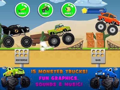 Download Monster Trucks Game for Kids 2 2.5.6 APK