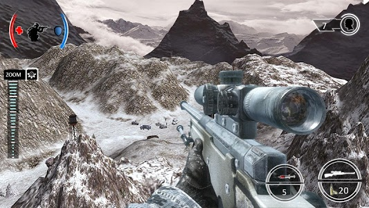 Download Mountain Sniper Shooting: 3D FPS 7.6 APK