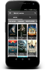 screenshot of Movie Leaves version 1.9