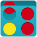 Download 4 in a row Multiplayer - Connect four discs ! 2.2 APK