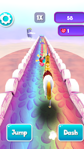 Download My Little Unicorn Runner 3D 2 1.1.43 APK