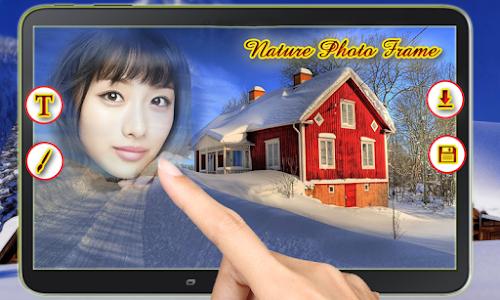 screenshot of Nature Photo Frames - Nature Photo Editer App version 1.0