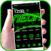 Download Neon light Theme Green Tech 1.1.1 APK
