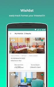screenshot of Nestaway - Rent furnished house, Room or Bed ? version 1.2.07