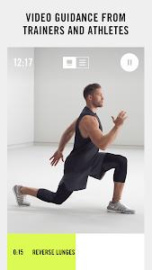 screenshot of Nike+ Training Club version 5.3.0