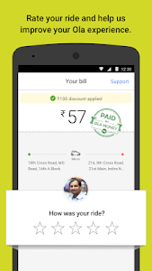 Download Ola cabs - Taxi, Auto, Car Rental, Share Booking 4.7.2 APK