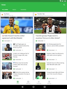 screenshot of Onefootball - Soccer Scores version 10.9.0.331